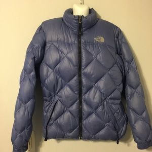The north face puffy jacket down